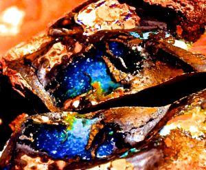 Boulder Opal Rough 07.JPG