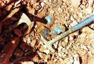 Mining for Opal - Boulder Opal in the Floor.jpg