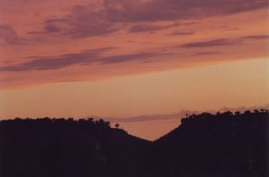 Sunset in the Queensland Opal Fields - Pastel Mesas.jpg