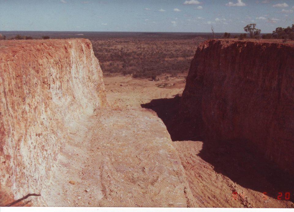 Mining Boulder Opal