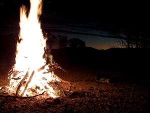 Campfire Dusk Eromanga.JPG